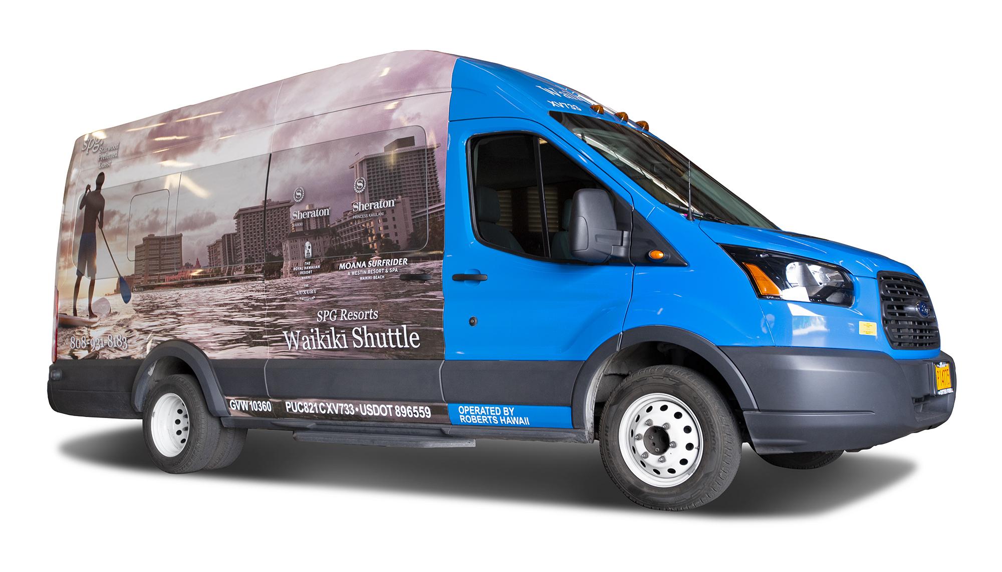 Product SPG Shuttle Transfer